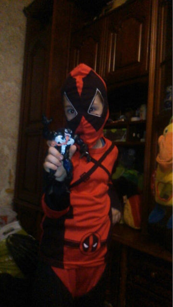 Children Deadpool Halloween Costume