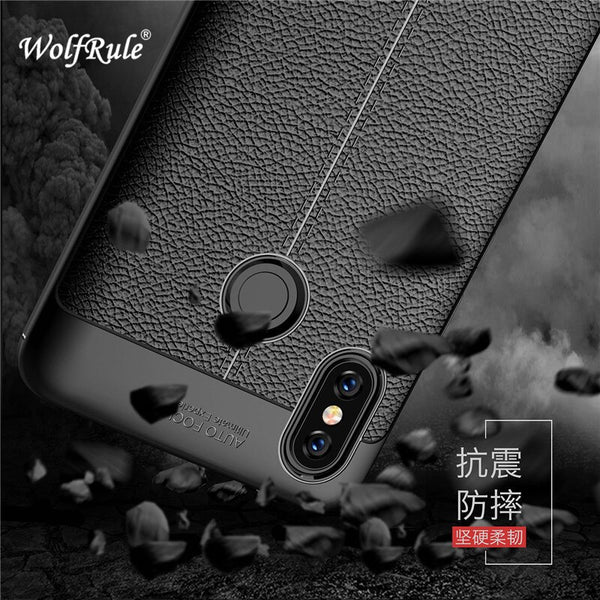 "WolfRule Xiaomi Mi Max 3 Case Mi Max 3 Cover Shockproof Luxury Leather TPU Back Case For Xiaomi Xiomi Mi Max 3 Phone Funda 6.9""]"