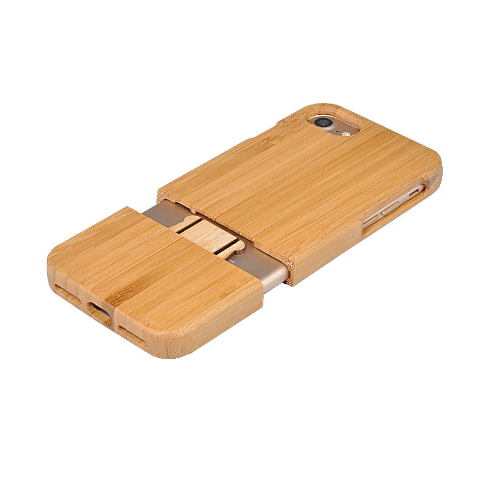 hot sale online 4e824 97376 Wood Case For iPhone 6 6s 6 Plus 7 7Plus 6s Plus 6plus 5 5s SE Real  Handmade Hard Cover Nature Wooden Phone Back Bamboo Shell