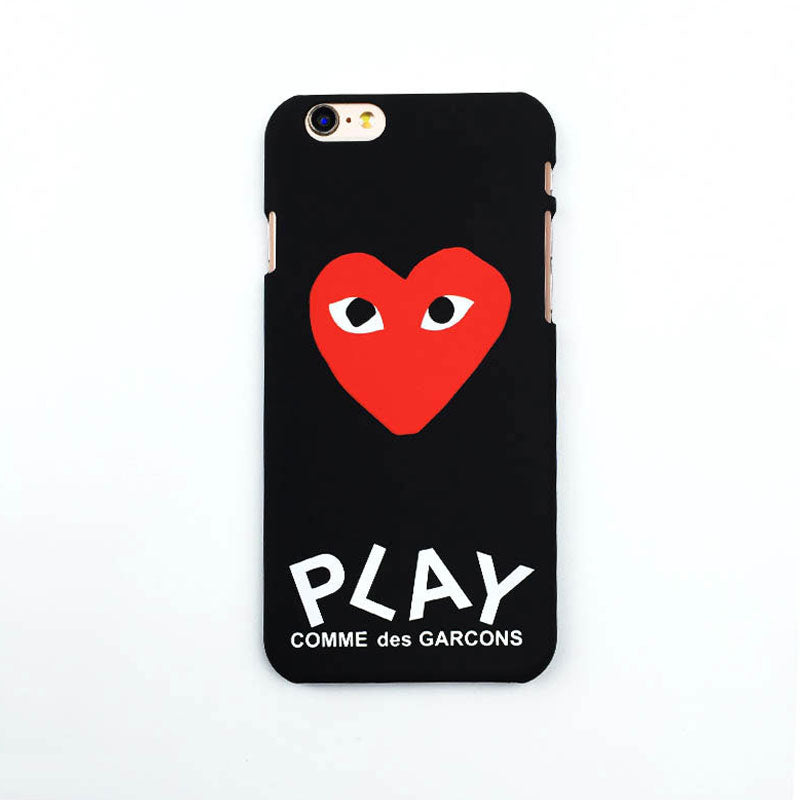 watch b2578 e2b7e YOUTIME phone Case For iPhone 7 Plus 6S 6 Play Japan Red Heart comme des  garcons Fashion CDG Hard PC Cover young anti-knock