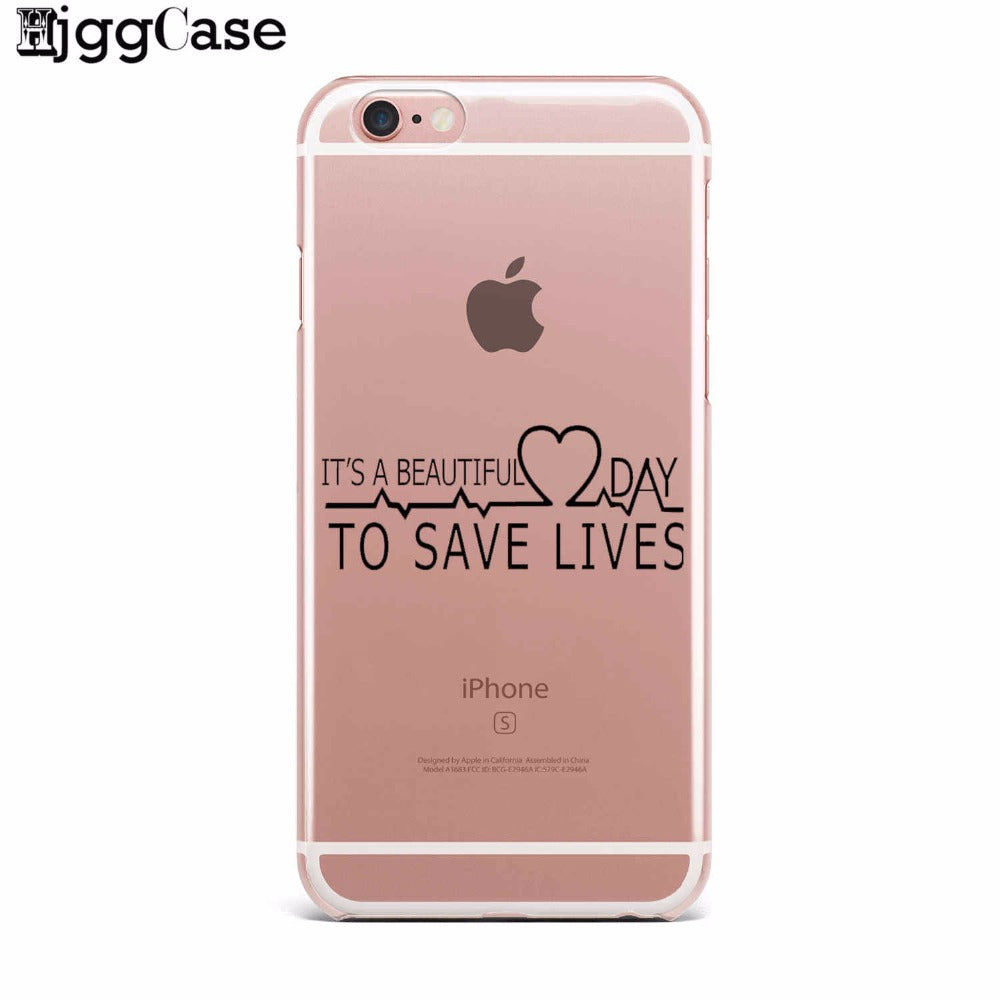 You\'re My Person For Fundas iPhone 7 5 SE 5S 6 6S Plus Greys Anatomy ...