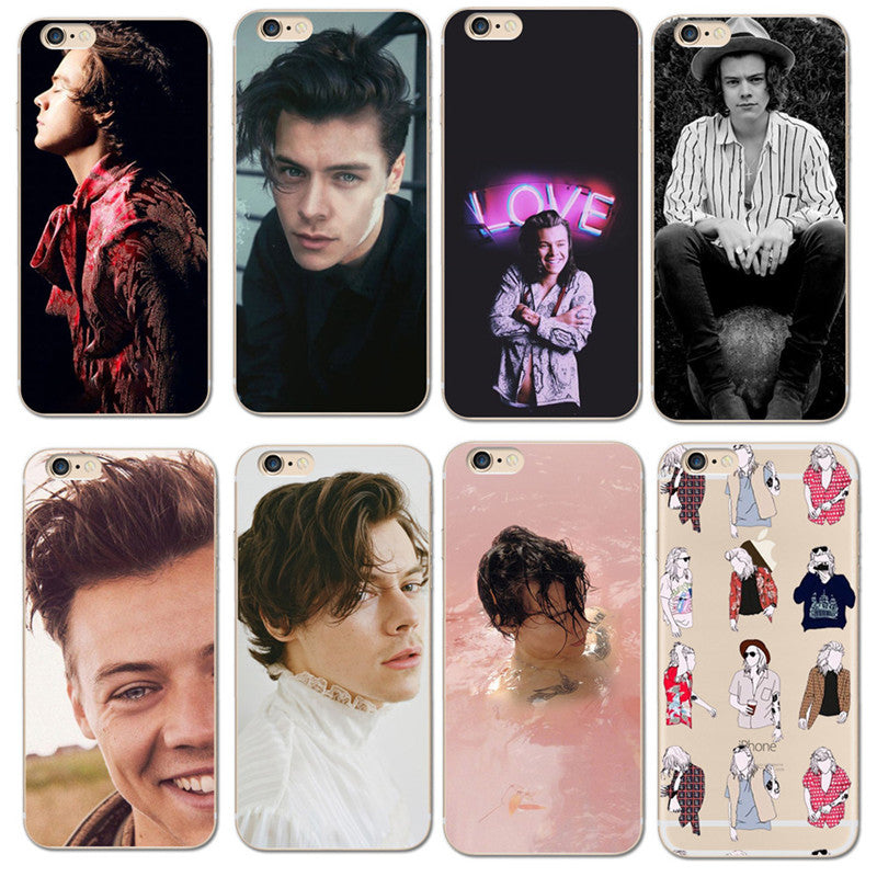 harry styles long hair coque iphone 6