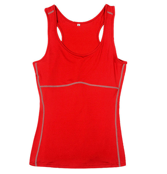 Plus Size S-XXL Compression Under Base Wear Sleeveless Tank Tops Ladies Casual Shirts Skins Cami
