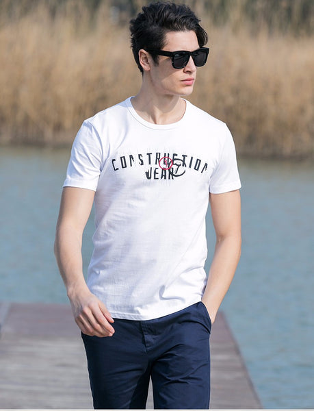 Summer T-Shirt Men Brand Clothing Cotton Comfortable