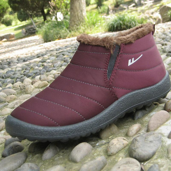 Winter Waterproof Female Ankle Snow Boots Casual Outdoor Warm