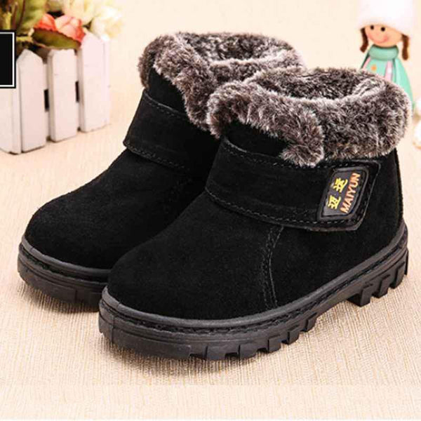 Children Boys Girls Winter Snow Ankle Boots Breathable Sneakers For Kids