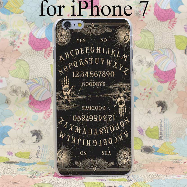 Top Quality Retro Ouija Board Case for iPhone 4 4s 5 5s SE 5C 6 6s Plus 7 7 Plus Cover