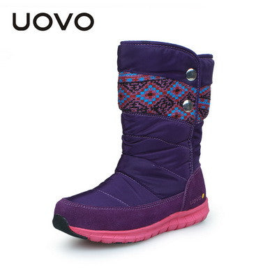 Newest Children Oxford Fabric Kids Girls Winter Children Boots