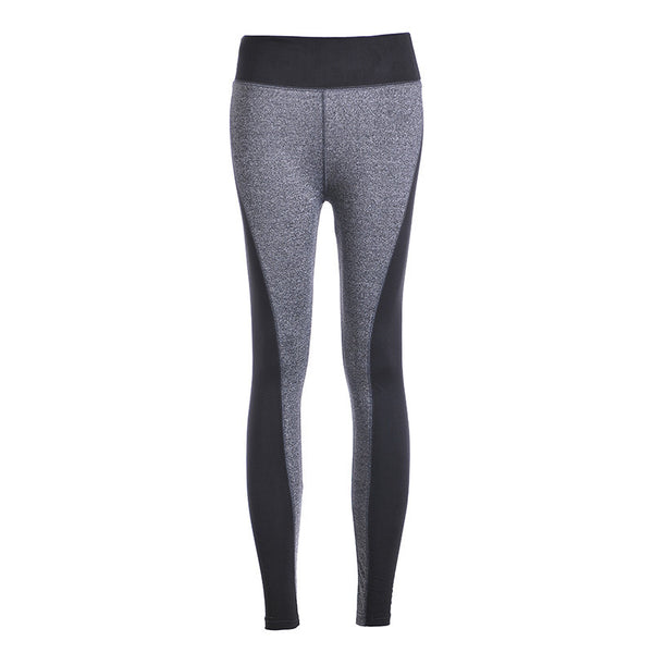 Spring Autumn Women's Sport Leggings Patchwork High Waist Gym Fitness Work Out Running Leggings