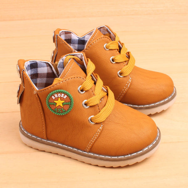 Children's Autumn Winter Casual Cotton Classic Boots Keep Warm Snow Boots For Boys Girls Size 21-30