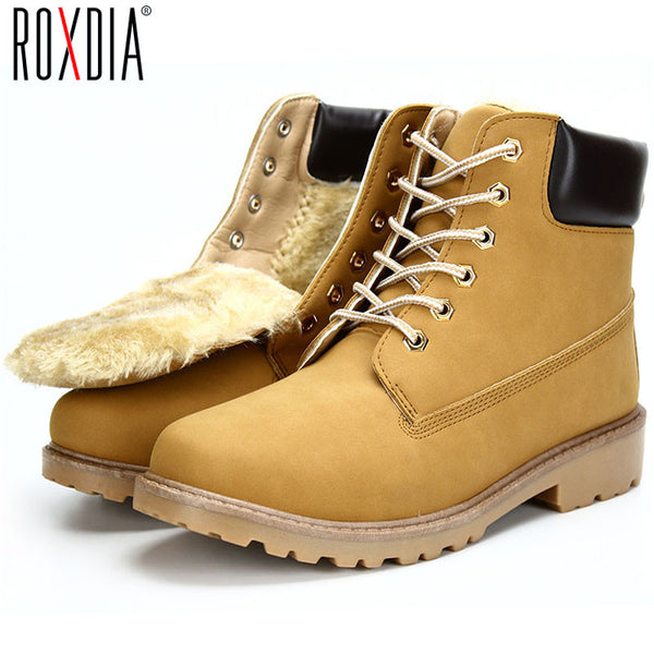 Autumn And Winter Big Size Pu Leather Men Ankle Boots Martin Cowboy