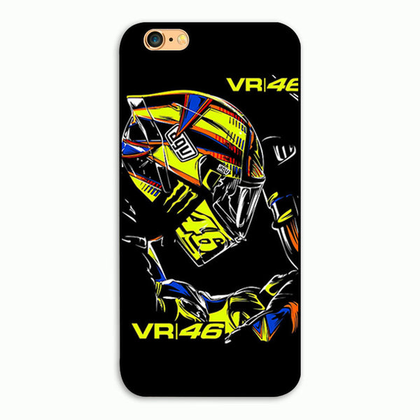 Valentino Rossi Moto GP The Doctor Racing Legend Phone Hard Plastic Case Cover For Apple iPhone