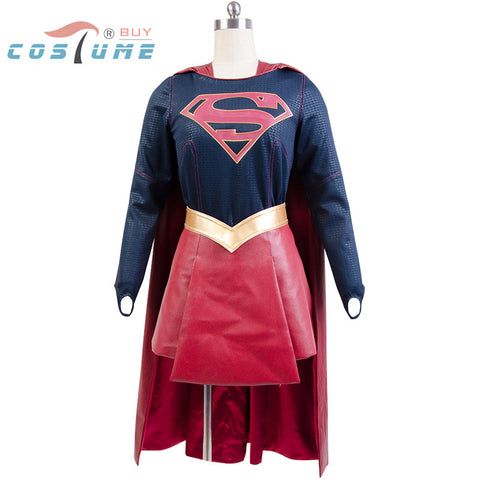Supergirl Halloween Carnival Cosplay Costumes Cloak Skirt Movie For Women