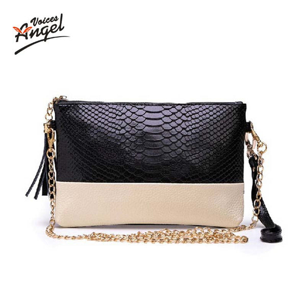 Vintage Shoulder Pu Leather Tassel Handbags Zipper Crossbody Bag Messenger Bag Flap