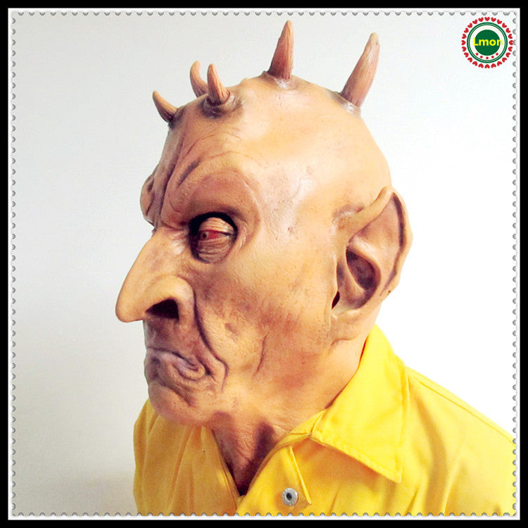 Six Horned Monster Halloween Mask