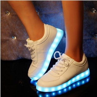 7 Colors Luminous Shoes Unisex LED Glow Shoe USB Rechargeable Light LED Shoes For Adults LED Shoes