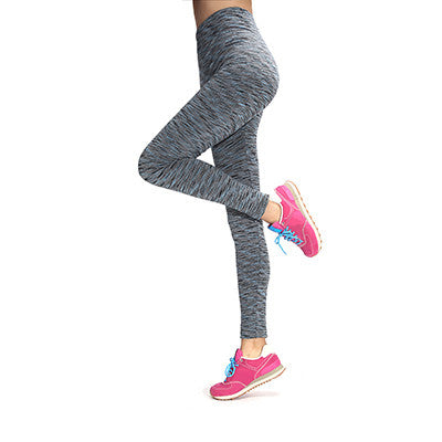 Fitness Elastic Casual Women Leggings Sport Work Out Leggings Knitted 11 Colors