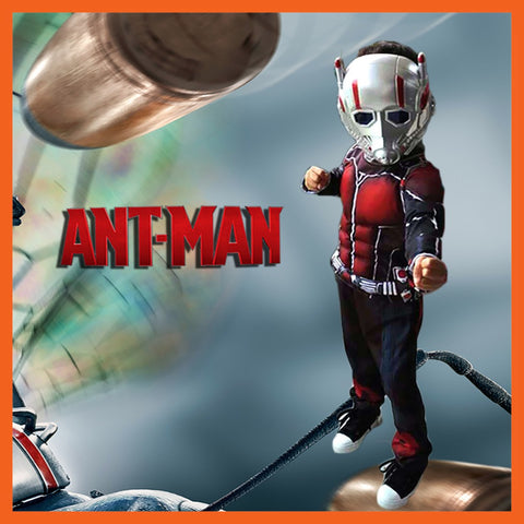 Ant Man Children Halloween Cosplay Costume