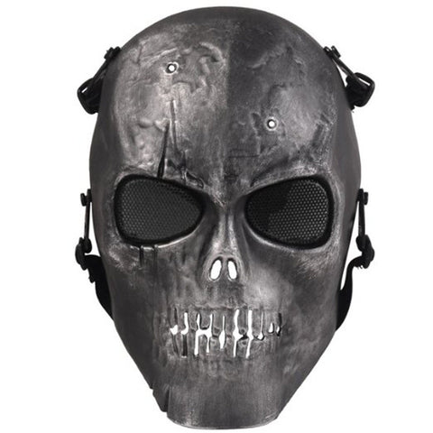 CS Skull Skeleton Full Face Halloween Mask