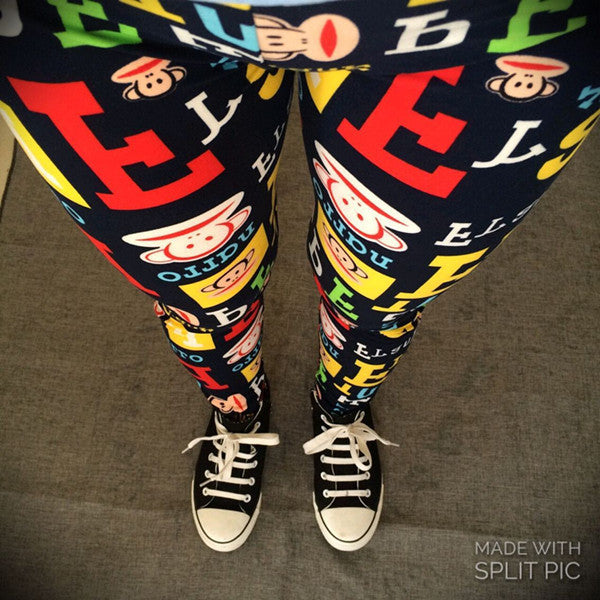 Summer Sport Pants Adventure Time Punks Rock Leggings Fitness Jeggings Leggings Sexy Printed Sport