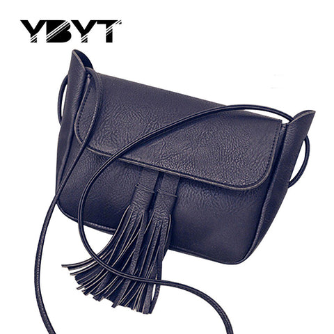 Casual Tassel Small Handbags Evening Clutch Shoulder Messenger Crossbody Bag