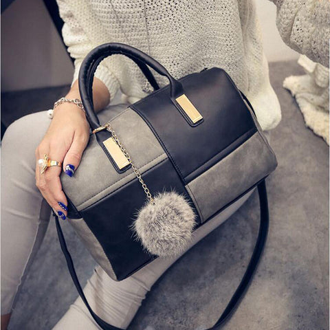 Casual Small Patchwork Pillow Handbags Women Evening Clutch Party Purse Shoulder Crossbody Bag