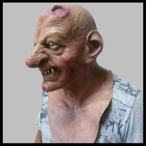 Halloween Cosplay Realistic Horror Halloween Full Face Mask