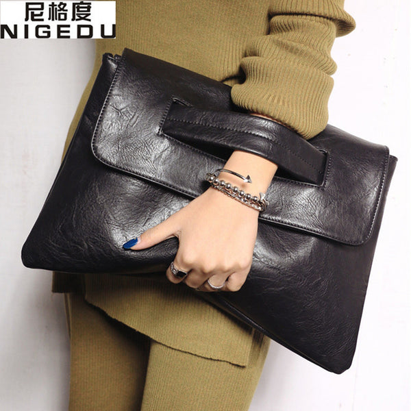 Fashion Women's Envelope Clutch Bag Crossbody Bags Handbag Messenger Bag Large Ladies Clutches