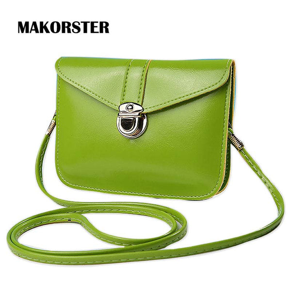 Summer Women Shoulder Bags Pu Leather Crossbody Bag Small Gift Luxury Hasp Handbags