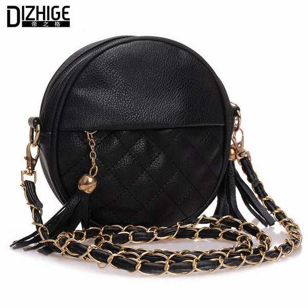Tassel Designer Handbags High Quality Crossbody Bag For Women Pu Leather Mini Bag