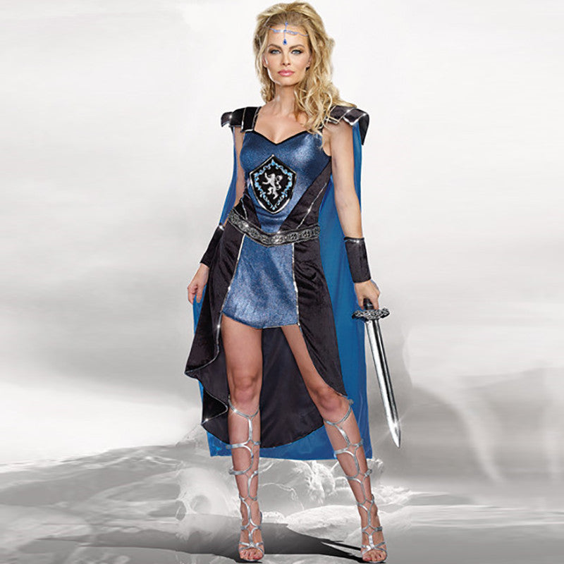 Women Roman Warrior Carnival Halloween Costumes