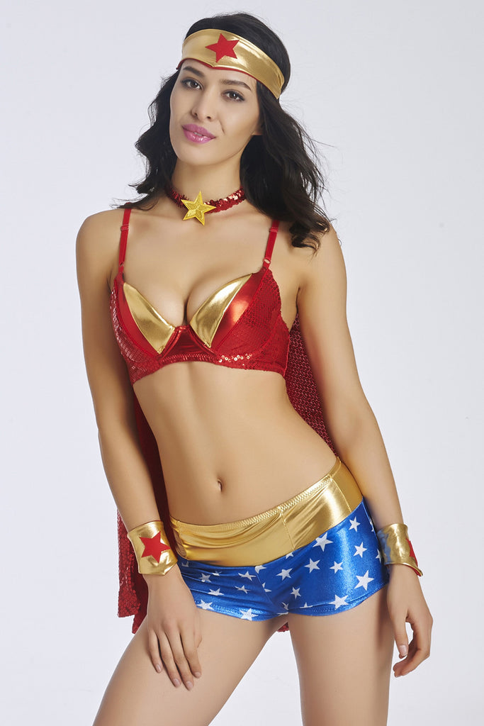 Game Uniform Supergirl Halloween Costumes For Women