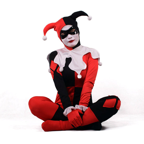 Harley Quinn Clown Halloween Women Costumes