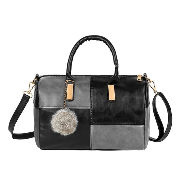 Casual Small Patchwork Pillow Handbags Evening Clutch Ladies Party Purse Shoulder Crossbody Bag