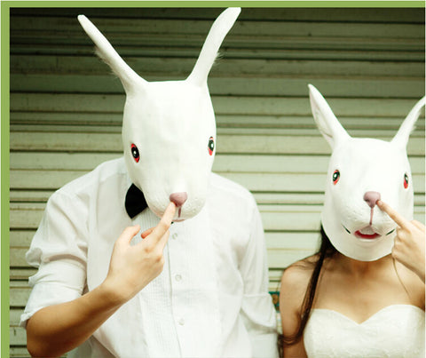 Halloween Cosplay Animal Rabbit Bunny Mask