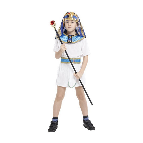 Children Egypt Pharaoh Cosplay Halloween Costume