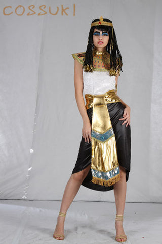 Egyptian Cosplay Halloween Women Costumes For Stage Performance Or Masquerade Party