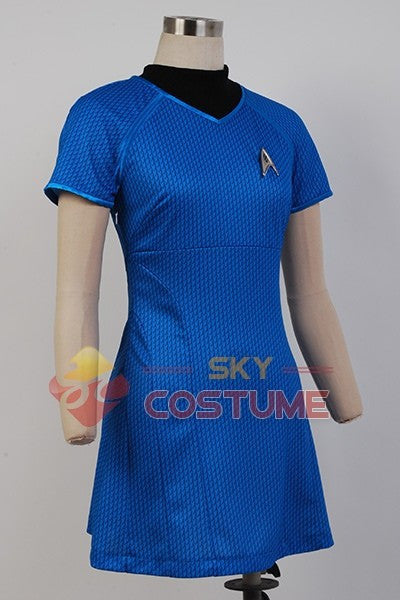 Star Trek Into Darkness Marcus Blue Women Uniform Cosplay Halloween Costumes