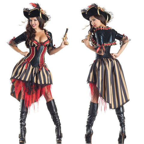 Pirates Of The Caribbean Halloween Women Costumes