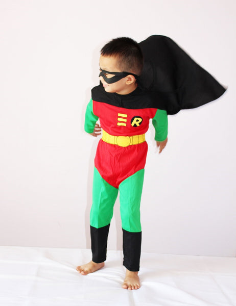 Boy Children Robin Halloween Costume