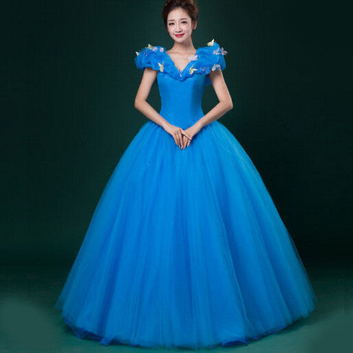 Princess Cinderella Halloween Cosplay Women Costumes
