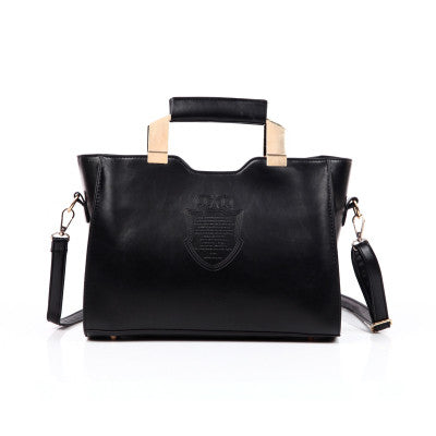 Iron Crown High Qulity Women Leather Shoulder Crossbody Bag Tote