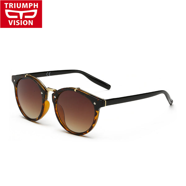 Fashion Vintage Sunglasses Women Round Gradient Sun Glasses Women Eyewear