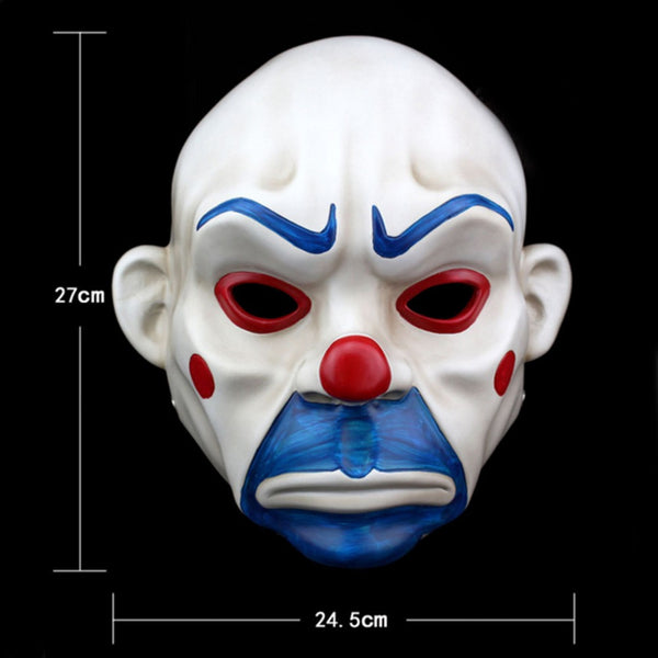 Batman Joker Clown Bank Robber Halloween Mask