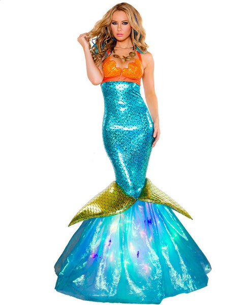 The Little Mermaid Ariel Princess Halloween Women Costumes
