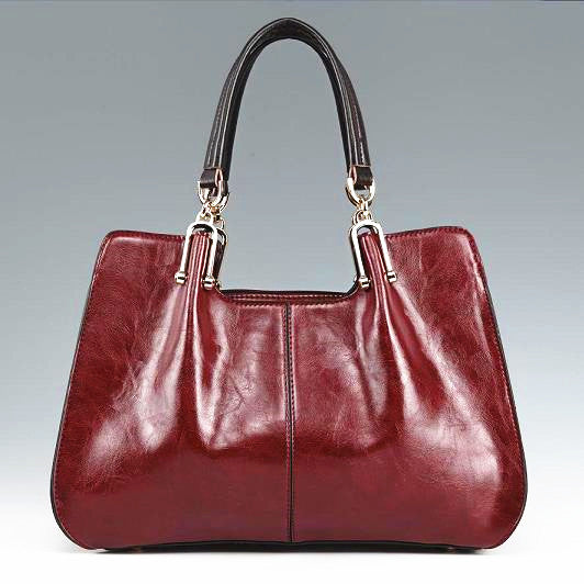 Genuine Leather Shoulder Bag Vintage Crossbody Bag