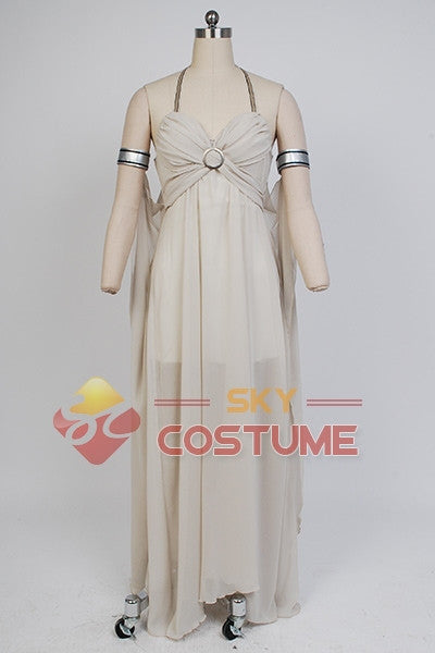 Game of Thrones Daenerys Targaryen Chiffon Cosplay Halloween Costumes Suit For Women