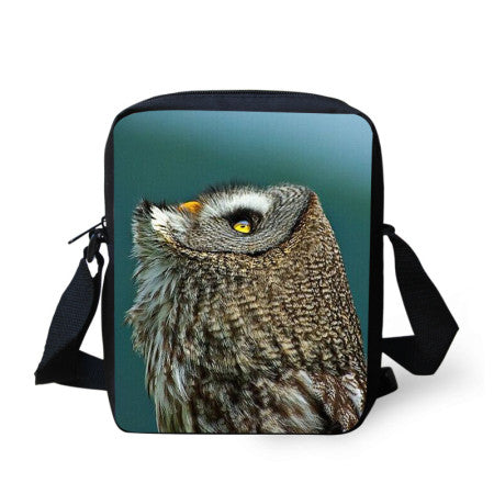 3D Animal Printing Messenger Bags Horse Tiger Dog Owl Crossbody Bag For Women Small Shoulder Bag