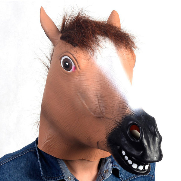 Animal Horse Mask Head Halloween