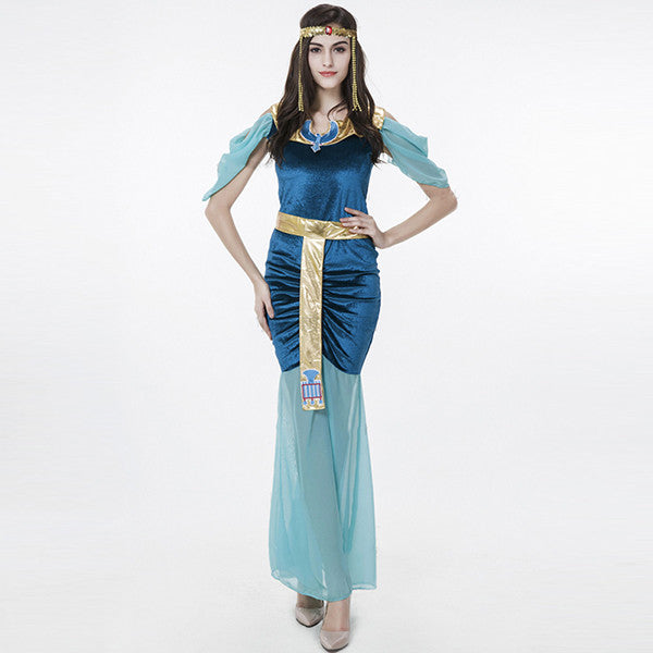 Slim Cleopatra Halloween Costumes For Women